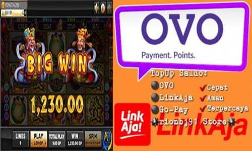 Slot Deposit LinkAja